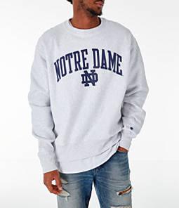 Men's Champion Notre Dame Fighting Irish College Reverse Weave Crewneck Sweatshirt