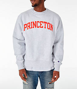 Men's Champion Princeton Tigers College Reverse Weave Crewneck Sweatshirt