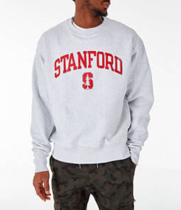 Men's Champion Stanford Cardinal College Reverse Weave Crewneck Sweatshirt