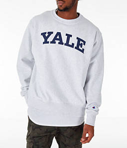Men's Champion Yale Bulldogs College Reverse Weave Crewneck Sweatshirt