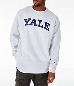 Men's Champion Yale Bulldogs College Reverse Weave Crewneck Sweatshirt
