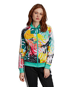 Women's adidas Originals Tropicalage SST Graphic Track Jacket