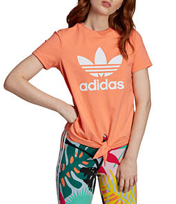 Women's adidas Originals Knotted Trefoil T-Shirt