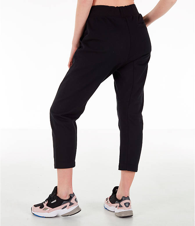 Back Left view of Women's adidas X Track Pants in Black