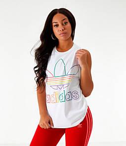Women's adidas Originals Pride Trefoil Tank