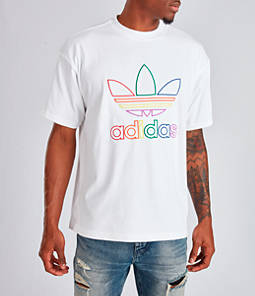 Men's adidas Originals Trefoil Pride T-Shirt