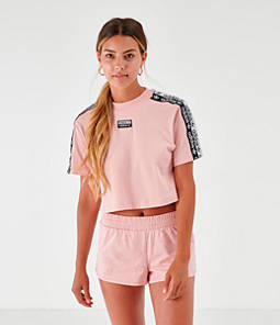 Women's adidas Originals Tape Crop T-Shirt