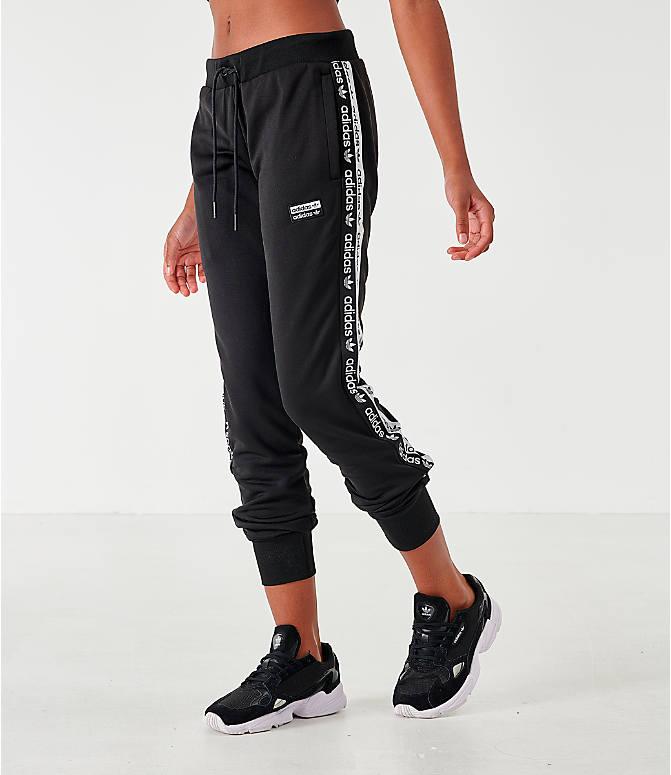 7be5f1eb Women's adidas Originals Tape Poly Jogger Pants