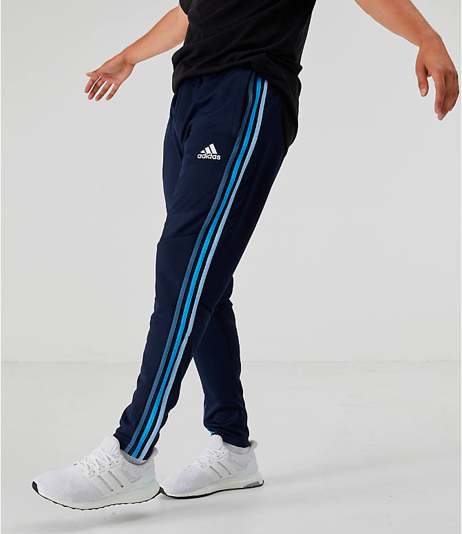 Back Left view of Men's adidas Tiro 19 Training Pants in Legend Ink