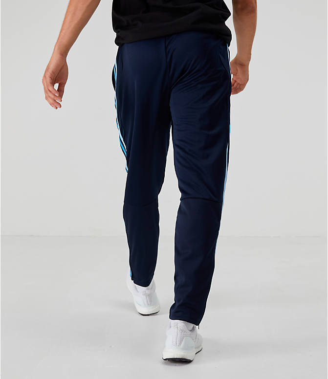 Back Right view of Men's adidas Tiro 19 Training Pants in Legend Ink