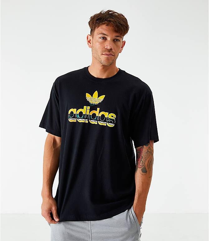 T Originals Men's Adidas Crafty Shirt Logo OkPXZui