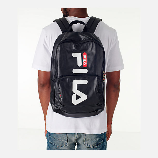 Alternate view of Fila Riley Backpack in Black