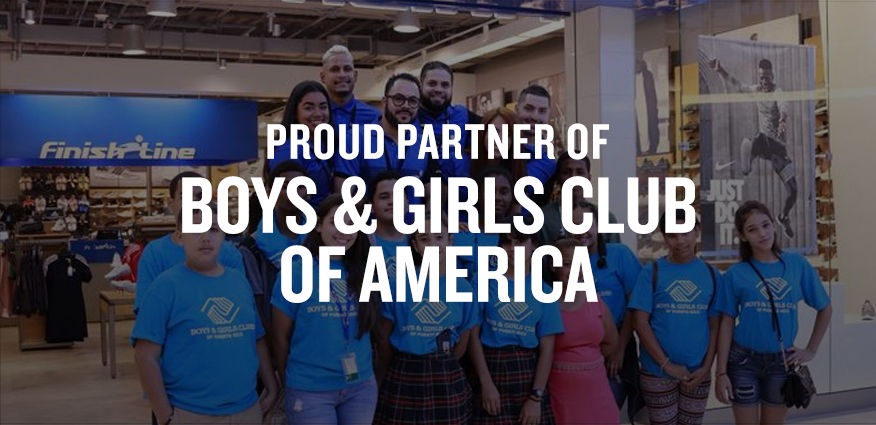 Finish Line Youth Foundation is a proud national partner of Girls Clubs of America.