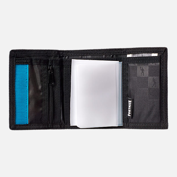 Alternate view of Kids' Fortnite Trifold Wallet in Black Camo