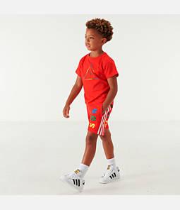 Toddler and Little Kids' adidas Originals x Pharrell Williams TBIITD T-Shirt and Shorts Set