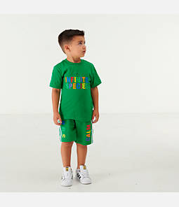 Infant and Kids' Toddler adidas Originals x Pharrell Williams TBIITD T-Shirt and Shorts Set