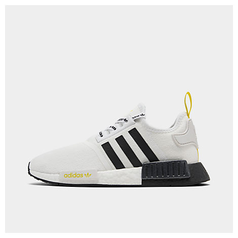 release date d46f2 adc96 Men's Nmd R1 Stlt Primeknit Casual Shoes, White - Size 13.0