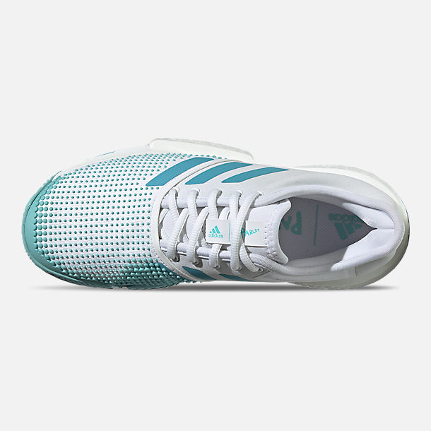 Women's adidas Solecourt Boost X Parley Tennis Shoes
