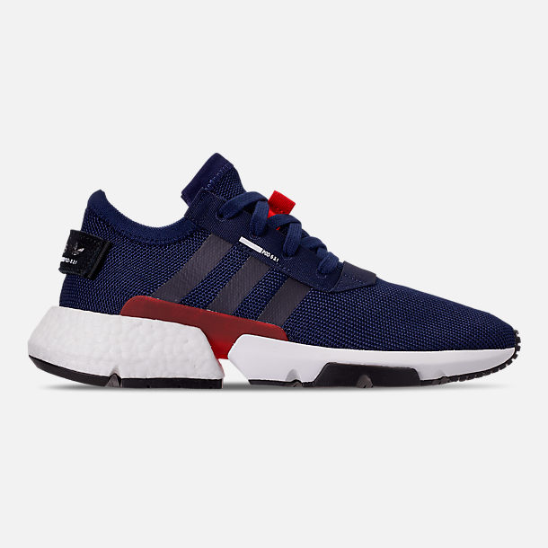 best service 8147c 4fcbd Right view of Men s adidas Originals POD-S3.1 Casual Shoes in Dark Blue