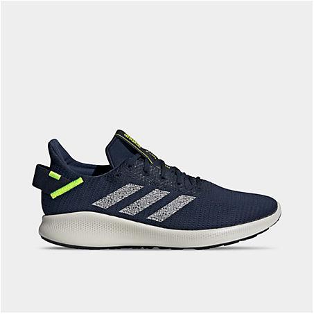 Adidas Originals Shoes ADIDAS MEN'S SENSEBOUNCE+ STREET RUNNING SHOES IN GREY / BLUE SIZE 13.0