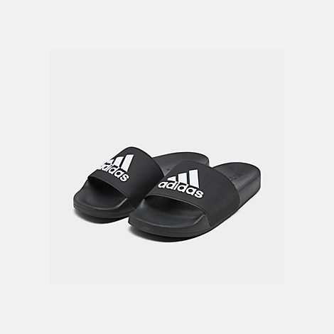 Three Quarter view of Boys' Big Kids' adidas Adilette Shower Slide Sandals