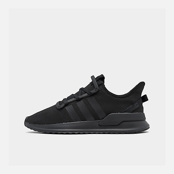 Right view of Men's adidas U_Path Run Casual Shoes in Core Black/Core Black/Footwear White