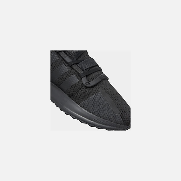 Front view of Men's adidas U_Path Run Casual Shoes in Core Black/Core Black/Footwear White