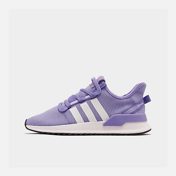 Right view of Women's adidas U_Path Run Casual Shoes in Active Purple/Footwear White/Core Black