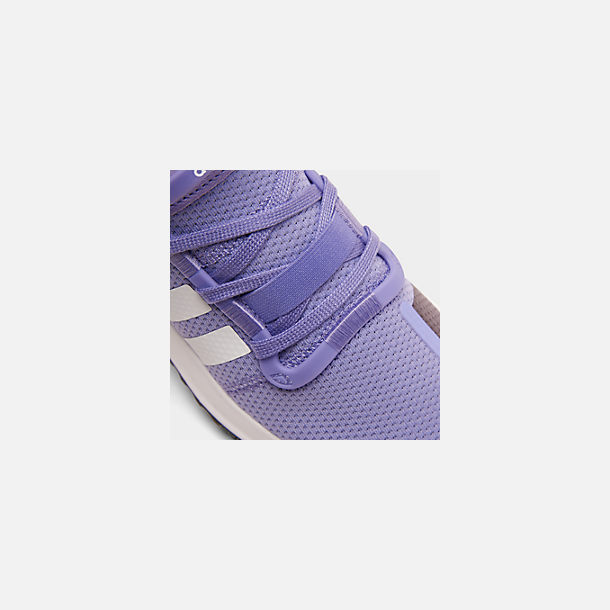 Front view of Women's adidas U_Path Run Casual Shoes in Active Purple/Footwear White/Core Black