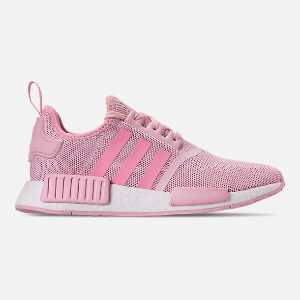 best cheap 93f34 9f022 Right view of Girls  Big Kids  adidas NMD Runner Casual Shoes in Clear Pink