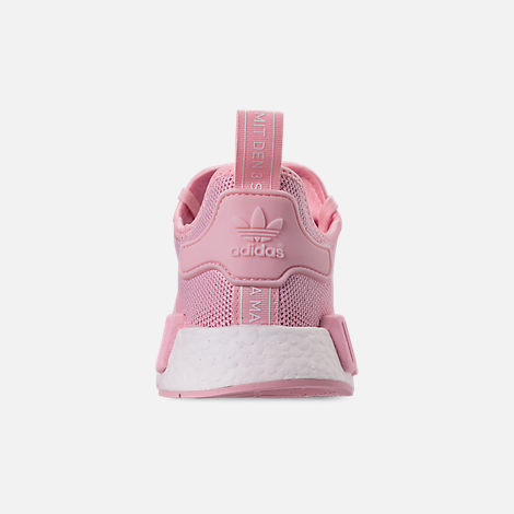 64fe98b0b6347 Back view of Girls  Big Kids  adidas NMD Runner Casual Shoes in Clear Pink