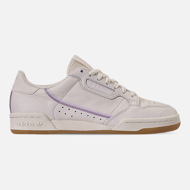Right view of Women's adidas Originals Continental 80 Casual Shoes in Off White/Orchid Tint/Soft Vision