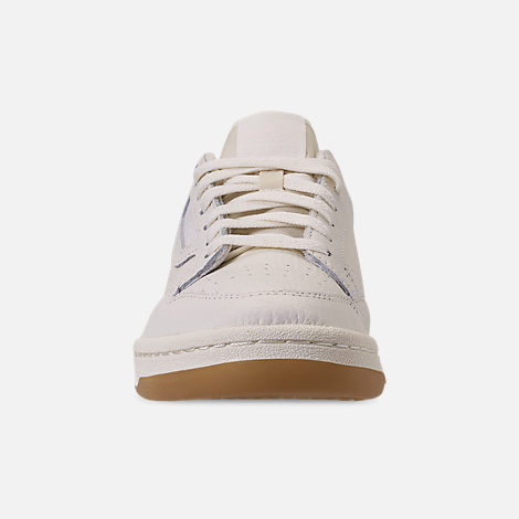 Front view of Women's adidas Originals Continental 80 Casual Shoes in Off White/Orchid Tint/Soft Vision