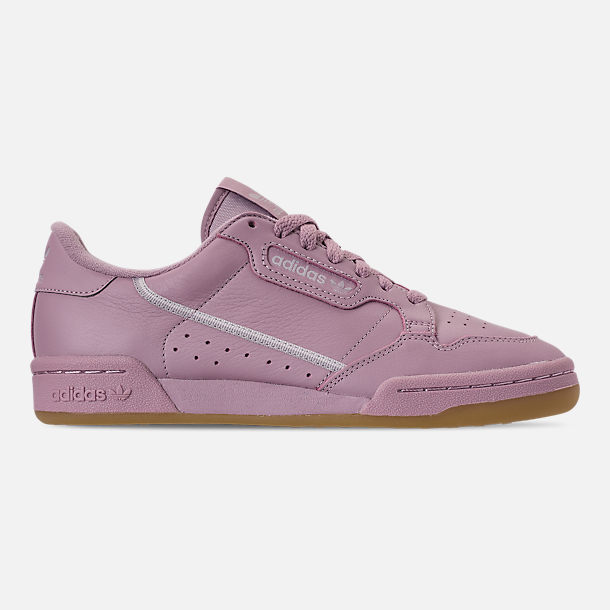 Right view of Women's adidas Originals Continental 80 Casual Shoes in Soft Vision/Grey/Grey