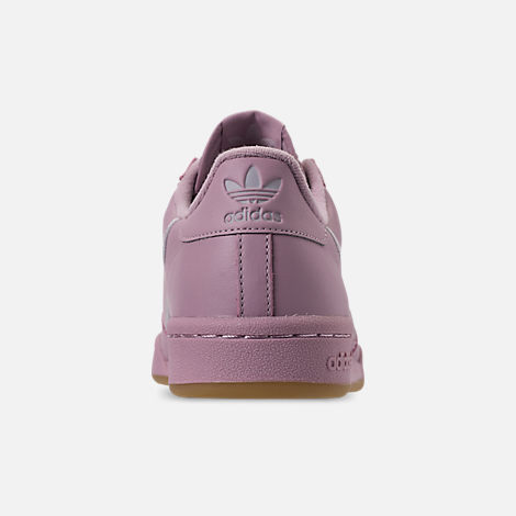 Back view of Women's adidas Originals Continental 80 Casual Shoes in Soft Vision/Grey/Grey