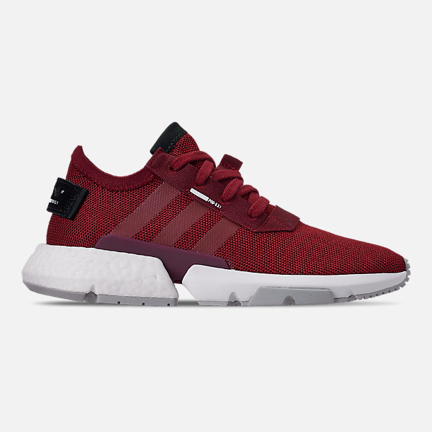 Right view of Men's adidas Originals POD-S3.1 Casual Shoes in Collegiate Burgundy