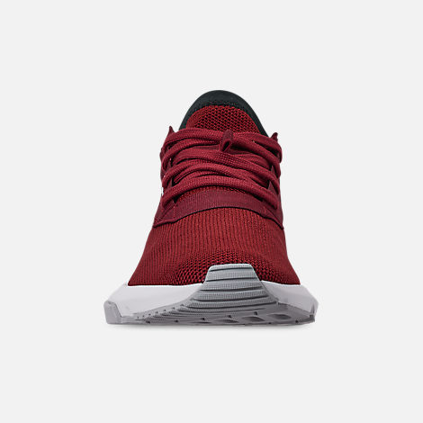 Front view of Men's adidas Originals POD-S3.1 Casual Shoes in Collegiate Burgundy