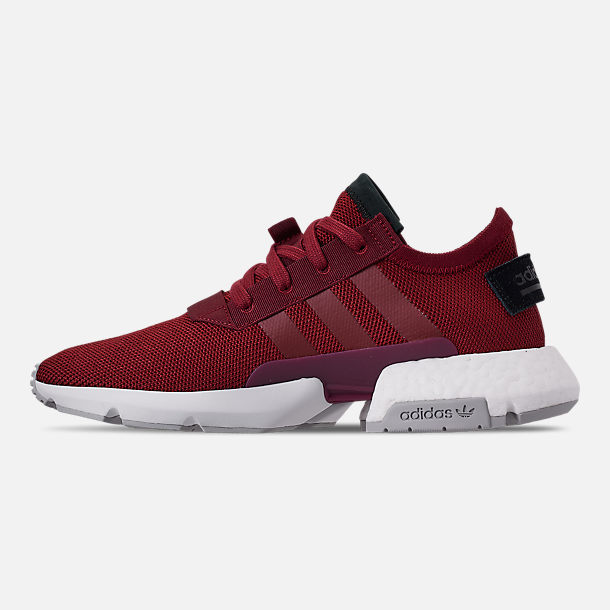 Left view of Men's adidas Originals POD-S3.1 Casual Shoes in Collegiate Burgundy