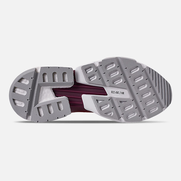 Bottom view of Men's adidas Originals POD-S3.1 Casual Shoes in Collegiate Burgundy