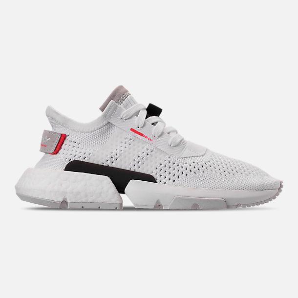 Right view of Women s adidas Originals POD-S3.1 Primeknit Casual Shoes in  White e3eeb1ffe