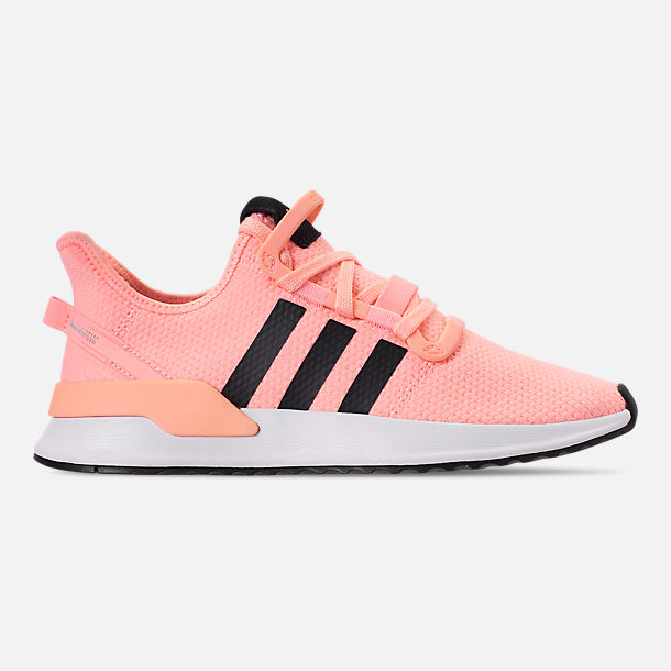 Right view of Women's adidas U_Path Run Casual Shoes in Clear Orange/Core Black/Footwear White