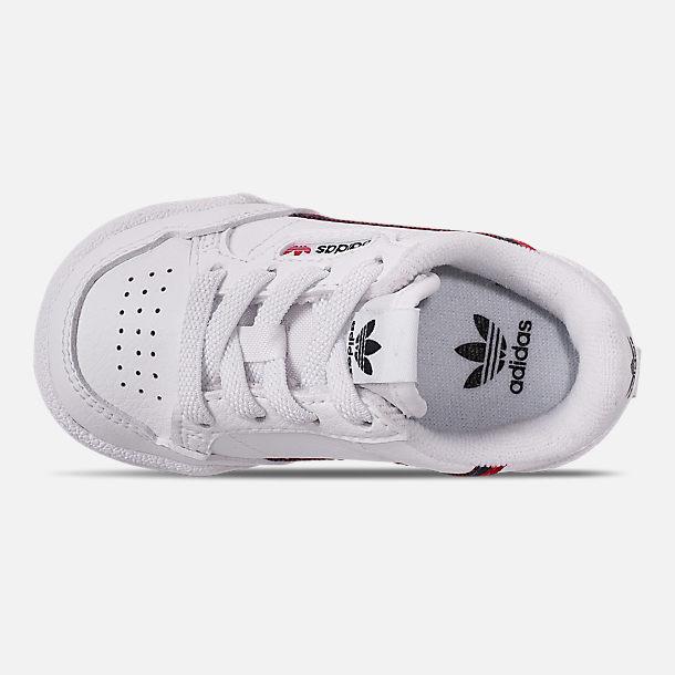 854f7b10 Boys' Toddler adidas Originals Continental 80 Casual Shoes