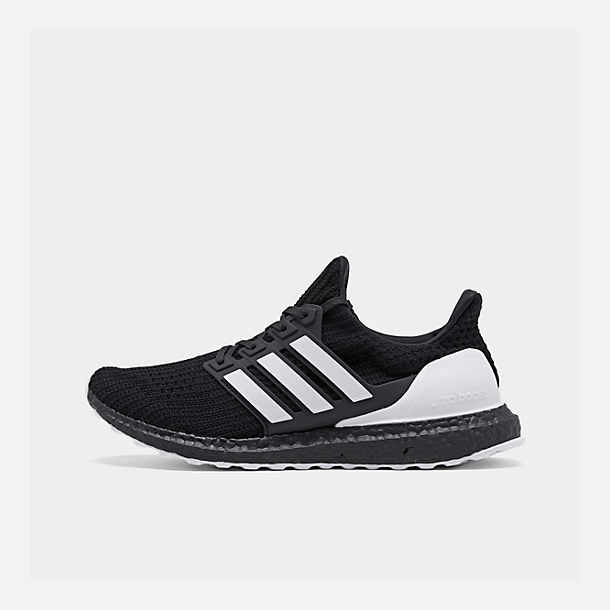 Right view of Men s adidas UltraBOOST DNA Running Shoes in Core  Black Footwear White  9f9908b4d