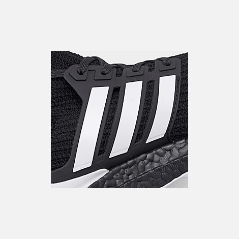 429448091eef Front view of Men s adidas UltraBOOST DNA Running Shoes in Core Black Footwear  White