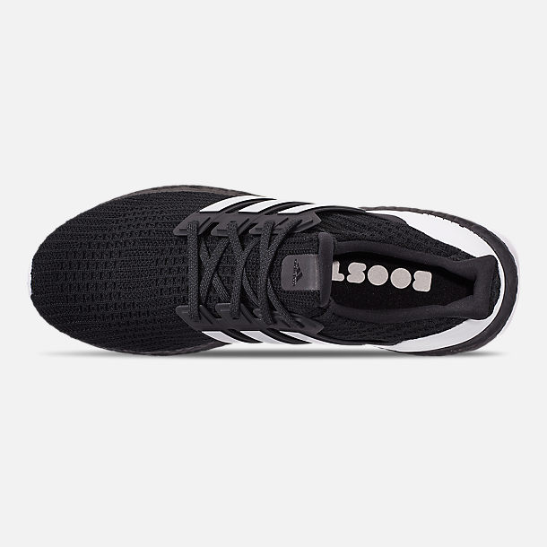 1ba3ad3944cf Top view of Men s adidas UltraBOOST DNA Running Shoes in Core Black Footwear  White