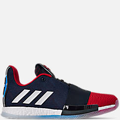 separation shoes 29e4f e808d Mens adidas Harden Vol.3 Basketball Shoes