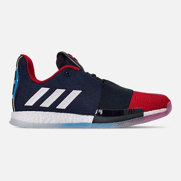 low priced dfd1e c4697 Right view of Mens adidas Harden Vol.3 Basketball Shoes in Legend  InkActive