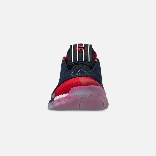 51bcc6a501f4 Front view of Men s adidas Harden Vol.3 Basketball Shoes in Legend  Ink Active