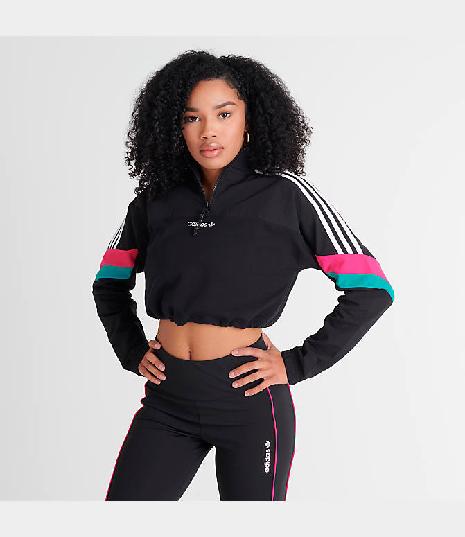 Adidas Originals Cropped Sweat Jacket Women Adidas