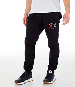 Men's Champion Reverse Weave Big C Chenille Jogger Pants